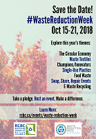 Waste Reduction Week 2018 Poster 4